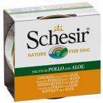 Schesir Dog Piletina i Aloja 150g