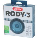 206037 Zolux Rody3 Nečujni Točak Igračka Za Glodare Plavi