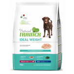 Trainer Natural Dog Ideal Weight Medium & Maxi Belo Meso 3kg