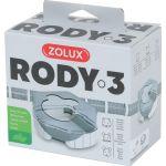 206038 Zolux Rody3 Toalet Za Glodare Beli