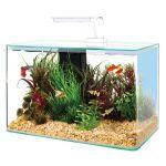 309019 Zolux Akvarijum Aqua Clear Sa Opremom Beli 40x20x33cm